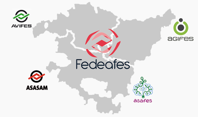Mapa de las asociaciones