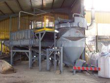 poste-de-vidange-big-bag-pour-une-usine-de-traitement-des-dechets-en-france
